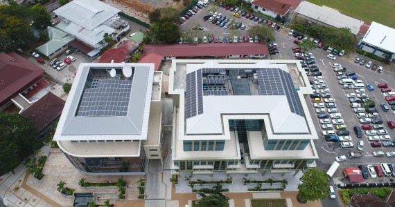 Nouvobanq (26kWp) & Laxcon Building (44kWp)